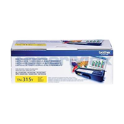 BROTHER HL-4150CDN TONER CARTRIDGE YELLOW HY